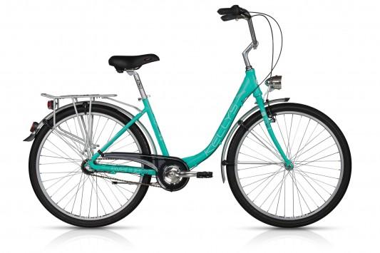 """<strong>Bicicleta de oras,</strong> Kellys Avenue 10, o bicicleta de femei deosebita atat prin culoare cat si prin echipare.</p><p><strong>Bicicleta city de dama</strong> cu roti de 26"""", ideala pentru plimbari in oras, datorita cadrului special conceput pentru corpul feminin, care asigura confortul in timpul pedalatului.</p><p>City bike cool echipat cu un ghidon inalt care permite o pozitie comoda cu spatele drept.</p><p>Bicicleta pentru femei, cu 2 ani garantie in magazinele Doua Roti, echipata cu urmatoarele componente:</p><p><strong>Cadru:</strong>Aluminum alloy monotube 26</p><p><strong>Furca:</strong> hi-ten unicrown (threaded steerer 28.6mm)</p><p><strong>Pedalier:</strong> PROWHEEL (38) - lungime de 170mm</p><p><strong>Manete schimbator:</strong> SHIMANO Nexus SL-3S41E Revoshift</p><p><strong>Frane:</strong> APSE Artek V-brake / SHIMANO coaster brake</p><p><strong>Anvelope:</strong>RUBENA Cobra 50-559 (26x1.90)"""