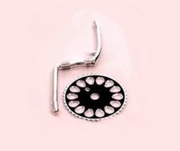 <strong>Sistem pedalier</strong> pentru bicicleta cruiser sau bicicleta cu schimbator in butuc.&nbsp;</p><p><strong>Angrenaj de tip Z</strong> cu lungimea bratului de 170mm. Foaia de angrenaj are 44 de dinti.</p><p><strong>Greutate:</strong> 2710 grame</p><p><strong>Setul de piulite</strong> care ajuta la fixarea angrenajului in cadru, nu este inclus in pachet, dar se poate achizitiona separat in functie de marimea ceruta de cadru.
