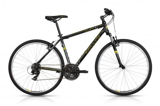 "<strong>Bicicleta cross usoara, </strong>cu cadru de aluminiu, model 2017 Kellys Cliff 10, cu un design deosebit si o culoare destinata barbatilor puternici.</p><p>Bicicleta de ture, bicicleta de asfalt datorita anvelopelor subtiri, cu profil de sosea.</p><p>Crossbike cu 2 ani garantie in magazinele Doua Roti, echipata cu urmatoarele componente:</p><p><strong>Cadru:</strong> KELLYS Crosslite 6061 alloy</p><p><strong>Dimensiune cadru</strong>: 530mm</p><p><strong>Furca:</strong> SR SUNTOUR M3010, 50mm, coil spring</p><p><strong>Pedalier:</strong> PROWHEEL (48x38x28) - length 170mm</p><p><strong>Manete schimbator:&nbsp;</strong>SHIMANO ST-EF510-7 EZ-fire Plus</p><p><strong>Viteze: </strong>21</p><p><strong>Lant</strong>:&nbsp;KMC Z51 (114 links)</p><p><strong>Schimbator spate:</strong> SHIMANO TY300</p><p><strong>Schimbator fata</strong>:&nbsp;SHIMANO M191 (31.8mm)</p><p><strong>Frane:&nbsp;</strong>APSE Artek V-brake</p><p><strong>Manete frana:&nbsp;</strong>SHIMANO ST-EF510-7 EZ-fire Plus</p><p><strong>Janta:</strong> KLS Draft 622x19 (32 holes / eyelets)</p><p><strong>Anvelope:</strong> INNOVA 44-622 (700x42C)</p><p><strong>Ghidon:</strong>&nbsp;steel RiseBar - diam 25.4mm / width 620mm (17"" - 19"")</p><p><strong>Manere ghidon:&nbsp;</strong>KLS Advancer</p><p><strong>Tija sa:</strong>&nbsp;steel - diam 27.2mm / length 350mm</p><p><strong>Sa:&nbsp;</strong>KLS CrossLine"
