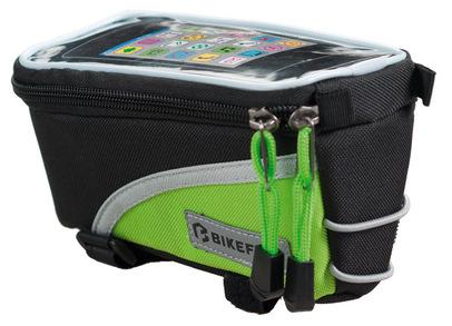 <p>Geanta Bikefun Skill Touch, o borseta pentru cadru, un suport de smartphone, model K15295.</p><div>Borseta cadru pentru bicicleta cu suport de telefon, confectionat din material 600D Polyester/PVC, cu protector TPU pentru afisaj si captuseala groasa de burete.</div><div>&nbsp;</div><div>Gentuta cadru compatibila cu ecranele multi-touch, pentru gadget cu ecran de pana la 4.5 inch.</div><div>&nbsp;</div><div>Borseta se monteaza foarte usor, fara a avea nevoie de niciun fel de cheie, doar cu arici.</div><div>&nbsp;</div><div>Dimensiuni:&nbsp; 8,5x17,5x9 cm.</div><div>&nbsp;</div><div>&nbsp;</div>