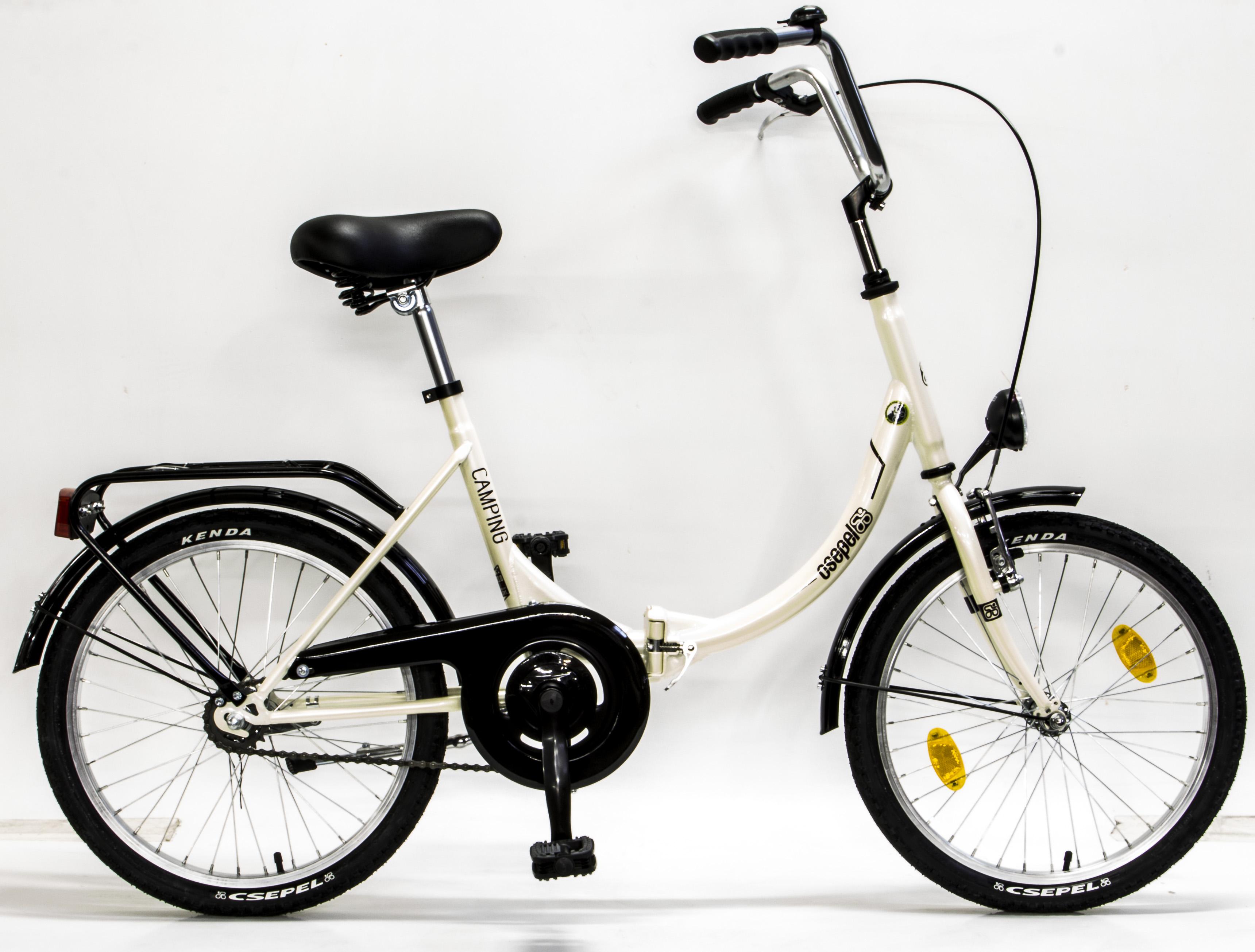 """<em><strong>Bicicleta de oras</strong></em>, Schiwnn- Csepel Camping, o bicicleta ideala pentru plimbare in oras. Rotile de numai 20"""" face din aceasta bicicleta una usor de pedalat si extrem de manevrabila printre obstacolele din parcuri.</p><p><em><strong>City bike de dama</strong></em>cu un ghidon inalt care confera o pozitie foarte comoda pe bicicleta si 3 viteze in butuc care ajuta la urcarea unor pante usoare.</p><p>Bicicleta de dama cu 2 ani garantie in magazinele Doua Roti, echipata cu urmatoarele componente:</p><p>Cadru: otel, rabatabil</p><p>Furca: otel</p><p>Monobloc: 119/122 cm</p><p>Angrenaj:Büchel, 46T , 170 mm, 3/32""""</p><p>Frana fata:Saccon """"V"""" , aluminiu, 110 mm</p><p>Maneta frana: Saccon</p><p>Pipa: clasica de 150 mm</p><p>Set cuveta:Cartridge 1"""" cu filet</p><p>Ghidon:Saten, 600x70 mm</p><p>Viteza: 3 interne</p><p>Tija sa : 250 mm</p><p>Sa:Selle Royal 8072DC cu gel si arcuri</p><p>Butuc fata:Joytech JY-433</p><p>Butuc spate: Shimano Nexus 3</p><p>Jenti:Beretta P24, 20x1,75</p><p>Anvelope: Kenda K198</p><p>Far:Büchel </p><p>Stop:Büchel pentru dinam, 6 V, 0,6 W</p><p>Aparatori noroi:Büchel Röder</p><p>Portbagaj:M.Factory</p><p></p><p></p><p></p><p>"""