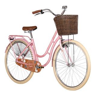 "<strong><em>Bicicleta de oras, usoara</em>,</strong>cu cadru de aluminiu,<strong>Kellys Classic Dutch</strong>o bicicleta vintage de dama, cu un design care face diferenta.</p><p><strong>Bicicleta city</strong>echipata cu cos pe fata, recomandata pentru doamne si domnisoare dornice de plimbari in aer liber, comod, pe o<strong>bicicleta de dama</strong>special construita pentru corpul feminin.</p><p><strong>Bicicleta femei</strong>cu butuc spate retropedalare, o combinatie deosebita de culori, cu 2 ani garantie in magazinele Doua Roti, echipata cu urmatoarele componente:</p><p><strong>Frame:</strong>van Kellys Dutch - Aluminum alloy 28""<br /><strong>Frame size:</strong>460mm<br /><strong>Fork:</strong>unicrown steel (threaded steerer)<br /><strong>Head parts:</strong>threaded<br /><strong>B.B.parts:</strong>cartridge (115mm)<br /><strong>Crankset:</strong>PROWHEEL (36) - length 170mm<br /><strong>Speed:</strong>1<br /><strong>Freewheel:</strong>16T<br /><strong>Chain:</strong>KMC Z33 (98 links)<br /><strong>Brakes:</strong>APSE Artek V-brake / SHIMANO coaster brake<br /><strong>Brake levers:</strong>TEKTRO<br /><strong>Brake inner wire:</strong>DRIVING Force SCS (SlickCableSystem)<br /><strong>Hubs:</strong>alloy / coaster brake hub (36 holes)<br /><strong>Rims:</strong>KLS Event 622x19 (36 holes)<br /><strong>Spokes:</strong>steel<br /><strong>Tires:</strong>Mitas Cityhopper 52-622 (28x2.0) ReflectiveLine<br /><strong>Stem:</strong>alloy / steel - diam 25.4mm / 30° / length 80mm<br /><strong>Handlebar:</strong>steel RiseBar - diam 25.4mm / width 610mm<br /><strong>Grips:</strong>HollandGrip<br /><strong>Seat post:</strong>steel - diam 27.2mm / length 350mm<br /><strong>Saddle:</strong>van Kellys<br /><strong>Pedals:</strong>NonSlip - alloy<br /><strong>Front light:</strong>BÜCHEL Retro battery<br /><strong>Rear light:</strong>Infini LED, 3 modes<br /><strong>Fenders:</strong>steel with coat guard<br /><strong>Accessories:</strong>front basket, alloy carrier, bell, c"