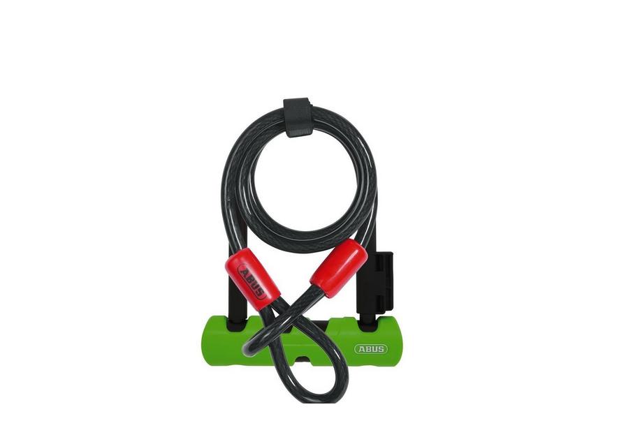 <strong>Antifurt </strong>pentru siguranta bicicletei tale.&nbsp;</p><p><strong>Lasa-ti bicicleta oriunde fara griji.</strong></p><p><strong>Lacat forma U</strong> din otel calit 12 mm</p><p><strong>Material special intarit</strong></p><p><strong>Forma ergonomica</strong> permite manevrarea usoara</p><p><strong>Cilindru Premium</strong> cu protectie sporita impotriva incercarilor de deschidere cu alte dispozitive decat cheia originala</p><p><strong>Nivel securitate</strong> 8</p><p><strong>Greutate&nbsp;</strong>1060 grame</p><p><strong>Latime&nbsp;</strong>80 mm</p><p><strong>Cablu</strong> 10 mm si 120 cm lungime cu bucle la captele inclus</p><p>&nbsp;