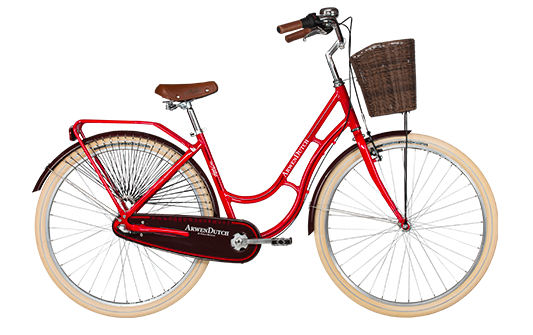 "<strong><em>Bicicleta de oras, usoara</em>, </strong>cu cadru de aluminiu, Kellys Arwen Dutch, model nou 2017.</p><p>Bicicleta city echipata cu cos pe fata, recomandata pentru doamne si domnisoare dornice de plimbari in aer liber, comod, pe o bicicleta de dama special construita pentru corpul feminin.</p><p>Bicicleta femei cu schimbator in butuc, o combinatie deosebita de culori, cu 2 ani garantie in magazinele Doua Roti, echipata cu urmatoarele componente:</p><p><strong>Cadru:</strong> Kellys Dutch - Aluminum alloy 28""</p><p><strong>Furca:</strong> unicrown steel (threaded steerer)</p><p><strong>Pedalier:</strong> PROWHEEL (36) - length 170mm</p><p><strong>Maneta schimbator:</strong>SHIMANO Nexus SL-3S42E Revoshift</p><p><strong>Frane:</strong> APSE Artek V-brake / SHIMANO coaster brake</p><p><strong>Anvelope:</strong> Mitas Cityhopper 52-622 (28x2.0) ReflectiveLine"
