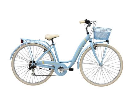 "<p style=""font-weight: 400;""><strong>Bicicleta de dama</strong> cu furca fixa si maneta de schimbator Shimano cu 6 viteze.</p><p style=""font-weight: 400;""><strong>Bicicleta de oras Adriatica,</strong> echipata cu aparatori de noroi, aparator de angrenaj, portbagaj dar cosul de fata nu este inclus, poza este cu titlu informativ.</p><p style=""font-weight: 400;""><strong>Cadru: </strong>Hi-Ten</p><p style=""font-weight: 400;""><strong>Furca:</strong>Hi-Ten Oval-TIG</p><p style=""font-weight: 400;""><strong>Schimbator spate:</strong>Shimano TY21</p><p style=""font-weight: 400;""><strong>Maneta schimbator:</strong>Shimano RS 36</p><p style=""font-weight: 400;""><strong>Pinioane:</strong>Shimano 6s<strong></strong></p><p style=""font-weight: 400;""><strong>Pedalier:</strong>TRK otel 42T</p><p style=""font-weight: 400;""><strong>Frane:</strong>tip V alu</p><p style=""font-weight: 400;""><strong>Roti:</strong>700C TRK alu</p><p style=""font-weight: 400;""><strong>Anvelope:</strong>City 700×35C</p><p style=""font-weight: 400;""><strong>Ghidon:</strong>TRK alu</p><p style=""font-weight: 400;""><strong>Pipa:</strong>TRK alu</p><p style=""font-weight: 400;""><strong>Sa:</strong>TRK City</p><p style=""font-weight: 400;""><strong>Pedale:</strong>TRK resin</p><p style=""font-weight: 400;""><strong>Dimensiune cadru:</strong> 42cm</p><p style=""font-weight: 400;""><strong>Greutate: </strong>15.30 kg</p><p style=""font-weight: 400;""></p>"