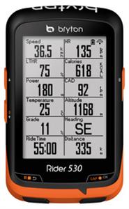 COMPUTER BRYTON RIDER 530T GPS SET + HRM + COMBO SENZOR-                    KILBRYRID530TGPSSEN